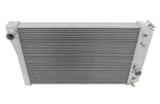 3 Row All Aluminum Replacement Radiator for the 1984 1990 Chevy Corvette, Chevy Corvette Radiator, Chevy Corvette Small Block V8, Chevy S10 Radiator,V8 Conversion   Manufactured by Champion Cooling Systems, Part Number 829 Automotive