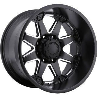 Ultra Bolt 20 Satin Black Wheel / Rim 8x6.5 with a  6mm Offset and a 125.2 Hub Bore. Partnumber 198 2181BM Automotive