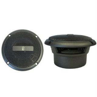 Poly Planar Gray 3 Inch Round Flush Mount Speakers Sports & Outdoors