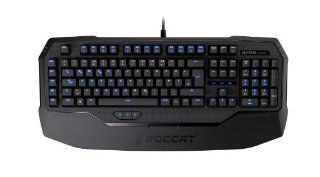 ROCCAT Ryos MK Pro Mechanical Gaming Keyboard with Per Key Illumination   Blue Cherry MX Key Switch (ROC 12 851 BE) Computers & Accessories