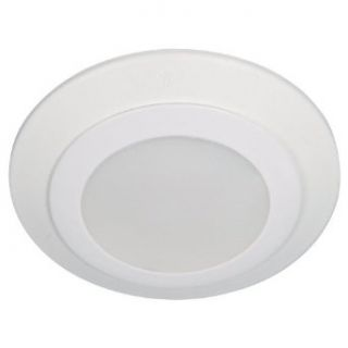 "Sea Gull Lighting 14601S 15 Traverse LED 4"" LED Recessed Retrofit/Downlight 3000K, White   Recessed Light Fixture Housings"