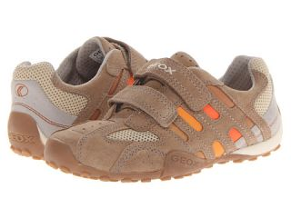 Geox Kids Jr Snake Boy Velcro 59 Big Kid Sand Orange