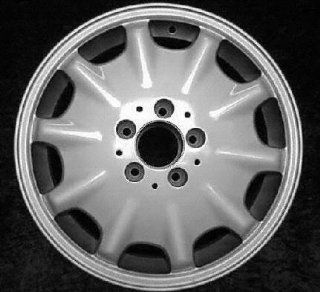 98 99 MERCEDES BENZ E430 e 430 ALLOY WHEEL RIM 16 INCH, Diameter 16, Width 7.5 (10 HOLE), MACHINED FINISH, 1 Piece Only, Remanufactured (1998 98 1999 99) ALY65168U10 Automotive