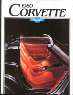 1980 Chevrolet Corvette sales brochure Entertainment Collectibles