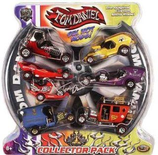 Tom Daniel Iron Legends 6 Hot Rods Collector Pack 1/43 Toys & Games