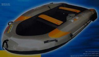 Aquarius 860 Hard Bottom Inflatable Boat  Sports & Outdoors