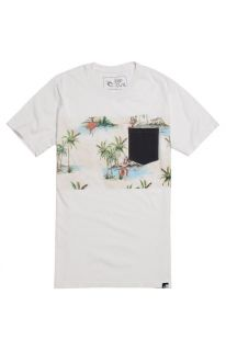 Mens Rip Curl T Shirts   Rip Curl The Buttons Pocket T Shirt