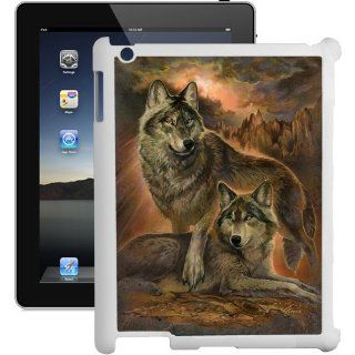 The Wolf Pack Protector iPad 2 Case   (White) Hard Case Computers & Accessories