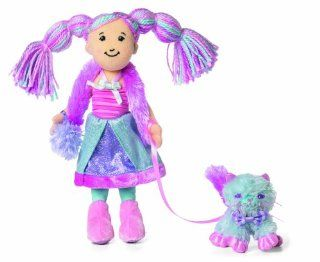 Manhattan Toy Groovy Girls freaturing Candy Kingdoms  Fatina and Fluffy Cotton Candy Kitty Toys & Games