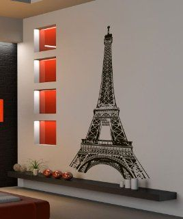 Vinyl Wall Decal Sticker Paris France Eiffel Tower 877A   Wall Decor Stickers