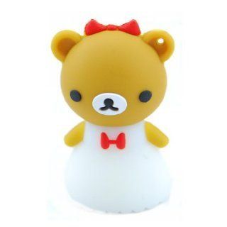 Cartoon Qute High Quality 4gb USB Flash Drive Memory Easily bear Bride TBM908 Computers & Accessories