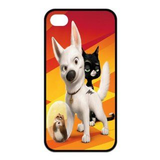 Mystic Zone Customized Bolt iPhone 4 Case for iPhone 4/4S Cover Cartoon Fits Case KEK0354 Cell Phones & Accessories