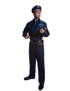 Adult Police Large Halloween Costume   Adult Large Adult Sized Costumes Clothing