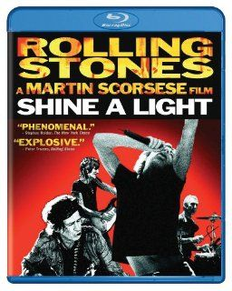 Shine a Light [Blu ray] The Rolling Stones, Christina Aguilera, Jack White, Buddy Guy, Bill Clinton, Martin Scorsese Movies & TV