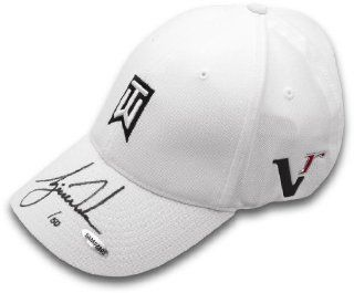 Tiger Woods Hand Signed Autographed TW White Hat Limited Edition #/50 Upper Deck Authenticated UDA at 's Sports Collectibles Store