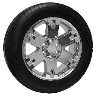 20 Inch Chrome GMC CK919 Truck Wheels and Tires Replica Style Automotive