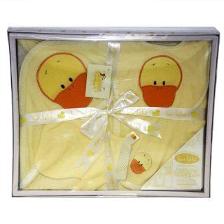 Bon Bebe Z920 BATH 4 Piece Gift Set   Baby's Bath time  Baby Bath Towels  Baby
