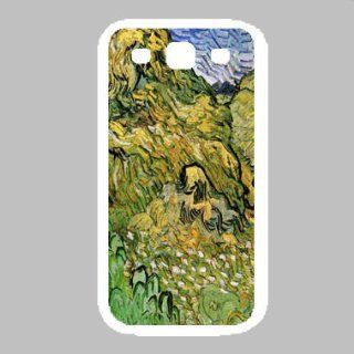 Field With Wheat Stacks By Vincent Van Gogh White Samsung Galaxy S3 Case Cell Phones & Accessories