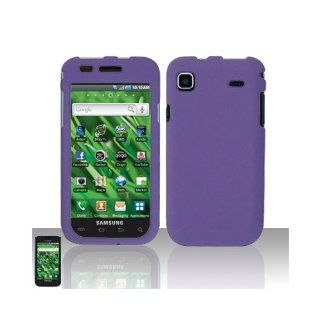 Purple Hard Cover Case for Samsung Galaxy S Vibrant 4G SGH T959 SGH T959V Cell Phones & Accessories