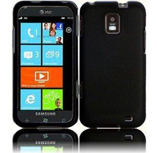 Black Hard Cover Case for Samsung Focus S SGH I937 Cell Phones & Accessories