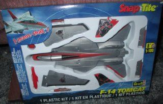 #1386 Revell Snap Tite F 14 Tomcat 1/100 Scale Plastic Model Kit,Needs Assembly Toys & Games