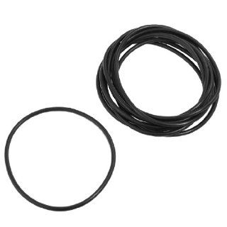 10 Pcs 74mm x 80mm x 3mm Nitrile Rubber Sealing O Ring Gasket Washer