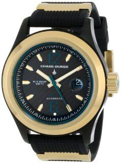 Chase Durer Men's 990.46BE RUBBStarburst Automatic Black Carbon Fiber Dial Watch Watches