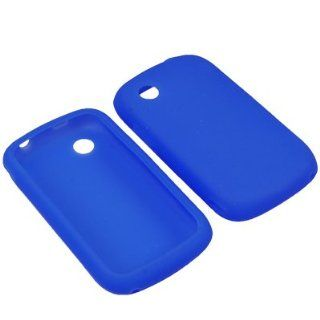 BLUE Silicone Gel Soft Skin Case Cover For ZTE AVAIL Z990 (AT&T) Cell Phones & Accessories