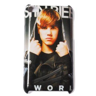 Justin Bieber Design 17   Slim Hard Plastic Case Cover for Ipod Touch 4   Players & Accessories