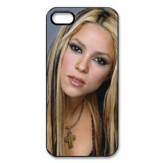 Custom Shakira Back Hard Cover Case for iPhone 5 5s I5 983 Cell Phones & Accessories
