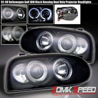 93 98 Vw Golf Mk3 Black Halo Projector Headlights 94 95 Automotive