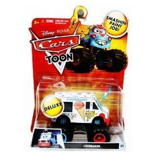 Disney / Pixar CARS TOON 155 Scale Die Cast Car Vehicle IScreamer I Screamer Monster Truck Mattel Toys & Games