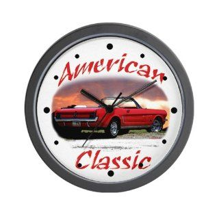 Shop Ford mustang Wall Clock at the  Home D�cor Store. Find the latest styles with the lowest prices from