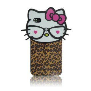 Cute Hello Kitty Style #004 (TPU) Flex Gel Case for Iphone 4 & 4S Cell Phones & Accessories