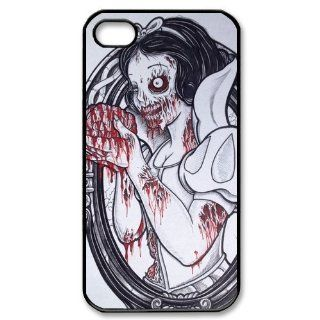Zombie Disney Princess Snow White Iphone 4,4s Case Plastic New Back Case Cell Phones & Accessories