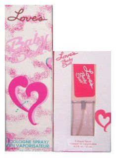 Love's Baby Soft By Mem For Women. Gift Set (Cologne Spray 1.7 Oz + Cologne Spray 0.5 Oz ).  Fragrance Sets  Beauty