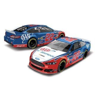 Joey Logano #22 AAA Ford Fusion 2014 NASCAR Diecast Car, 124 Scale HOTO Toys & Games