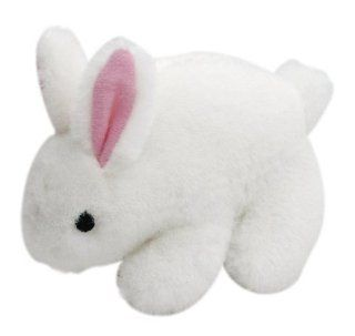 Multipet's Look Who's Talking Plush Talking Rabbit Dog Toy, 6 Inch  Pet Squeak Toys