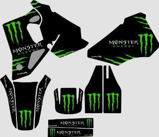 Honda CR80 Monster 1 graphics kit 1996 2002 Automotive