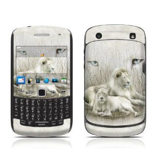 White Lion Design Protective Skin Decal Sticker for Blackberry Curve 9350 9360 9370 3G Cell Phone Cell Phones & Accessories