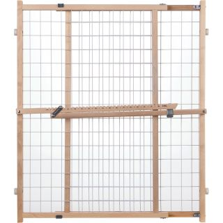 North States Wide Wire Mesh Pet Gate, Model# 4615  Pet Supplies