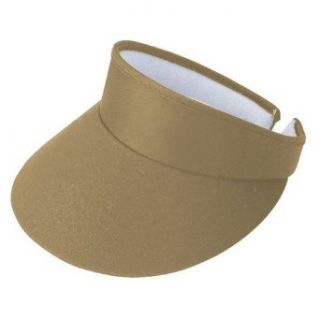 HIGH CROWN SPORTS GOLF CLIP ON VISOR, Khaki Clothing