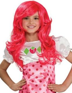 Strawberry Shortcake Costume Wig Child Clothing