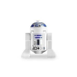 Lego Star Wars Mini Figure   R2 D2 (Original) Astromech Droid (Approximately 40mm / 1.6 Inches Tall) Toys & Games