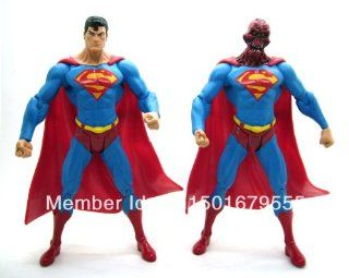DC Direct DCD Superman Man of Steel Series 6 Enemies Among Us and Alien Head 7 Loose Action Figure Set Figurine Toy Doll Toys & Games