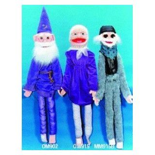 Senior Citizen Wizard Wrap Around Puppet Toys & Games