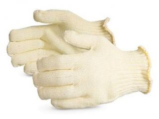 Superior SPGRK/A2D CoolGrip Covered Glass/Aramid Fiber Heat Resistant Plastic Injection Mold Trimming Glove with Both Sides PVC Dotted, Work, Cut Resistant, Large (Pack of 1 Pair) Cut Resistant Safety Gloves