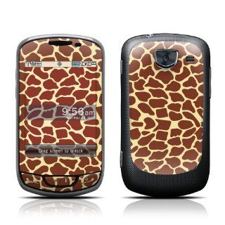 Giraffe Design Protective Skin Decal Sticker for Samsung Brightside SCH U380 Cell Phone Cell Phones & Accessories