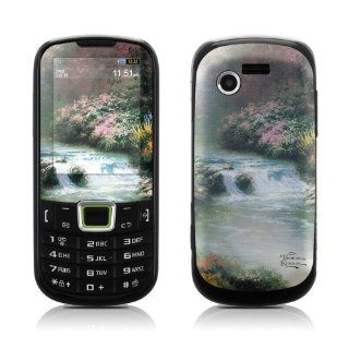 Beside Still Waters Design Protective Skin Decal Sticker for Samsung Evergreen SGH A667 Cell Phone Cell Phones & Accessories