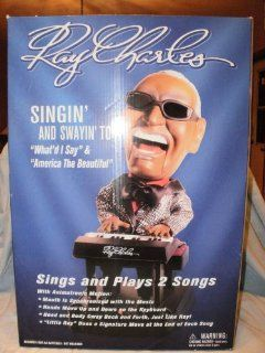 Ray Charles Singing & Swinging Animated Musical Toy Doll Figurine Collectible Toys & Games
